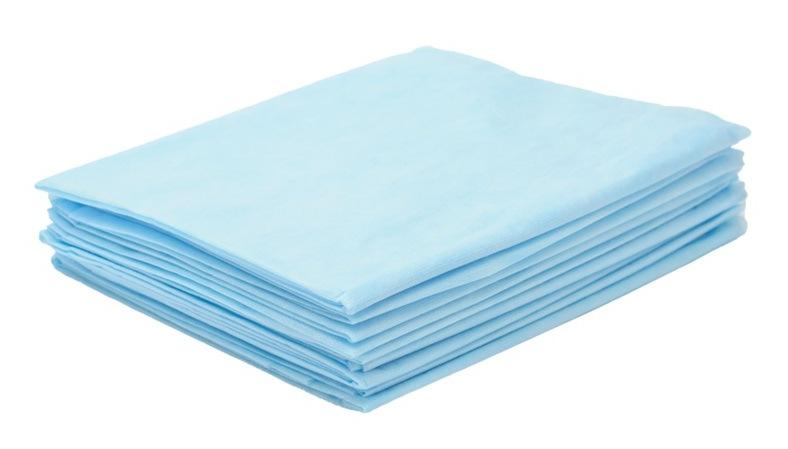 Одноразовые простыни и пеленки из нетканого материала